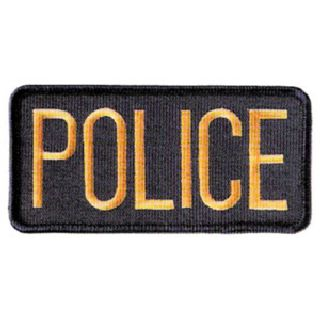 "Police Patch 4-1/2"" X 2""-"