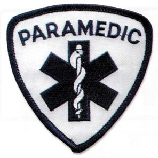 Paramedic Blue On White-