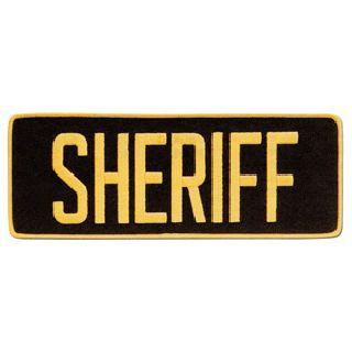 """Sheriff Patch 4"""" X 11""""-"""