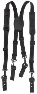 "Nylon suspenders for belts up to 2.25""-"
