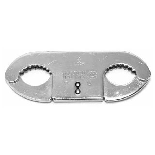 HWC Nickel Plated Thumbcuffs-
