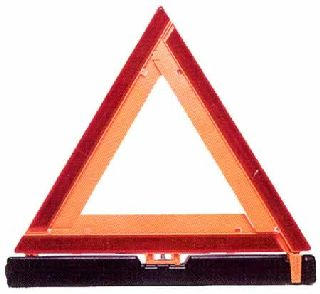 Highway warning triangle/3 per kit-Safety Flag
