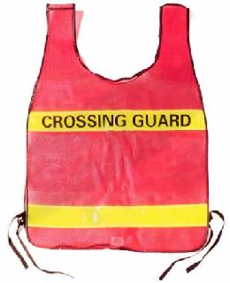 Specialty Vest - Blue vest with yellow stripe - POLICE
