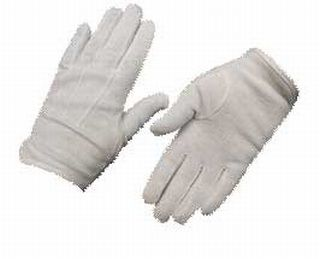 White Parade Gloves with Grip-