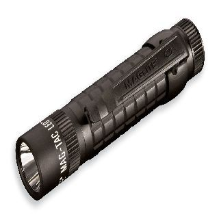 Mag-Tac Led Tactical , Non-Scalloped Head, Blk