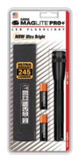 Mini Maglite Pro Plus 2 AA LED light, black-
