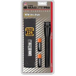 "Mini Maglite Pro, 2 ""AA"" LED, black-"