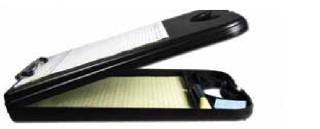 Desk Mate 2 Black w/Calculator-