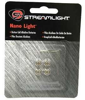 Coin Cell Batteries For Nano (4 Pack)-Streamlight