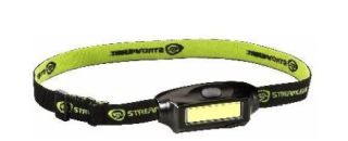 Bandit USB rechargeable headlamp, yellow-