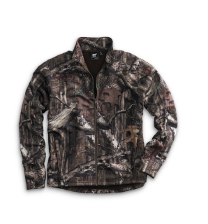 Mossy Oak Camo Full Zip-White Bear Clothing Co.