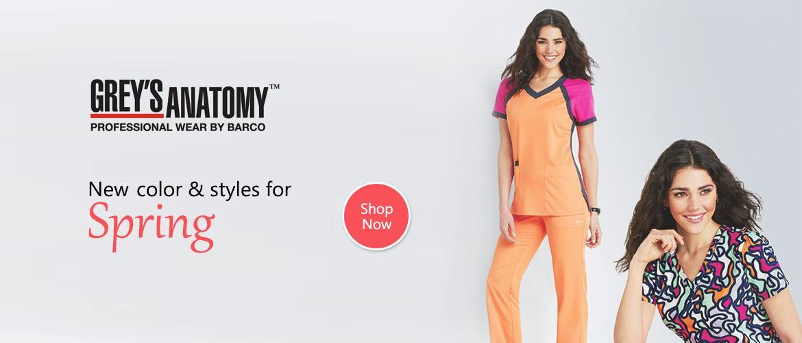 Grey's Anatomy Scrub Wear