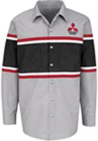 Mitsubishi® Technician Long Sleeve Shirt -InHouse