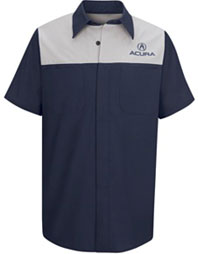 Acura® SS Technician Shirt -Red Kap®