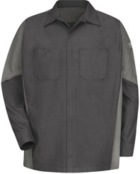 Audi® Long Sleeve Technician Shirt-RK