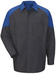 Ford® Long Sleeve Technician Shirt-InHouse