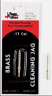 .17 Caliber Brass Cleaning Jag-Kleenbore