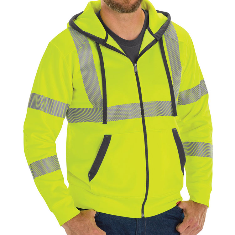 Full Zip ANSI Work Hoodie Class 3 Level 2