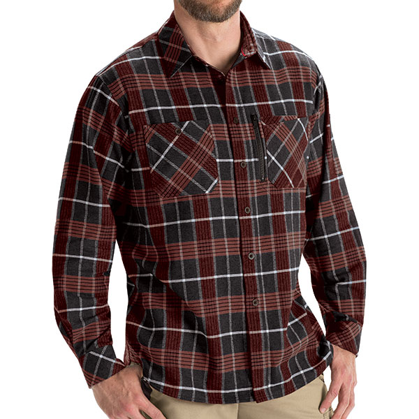 Flannel Plaid Workshirt