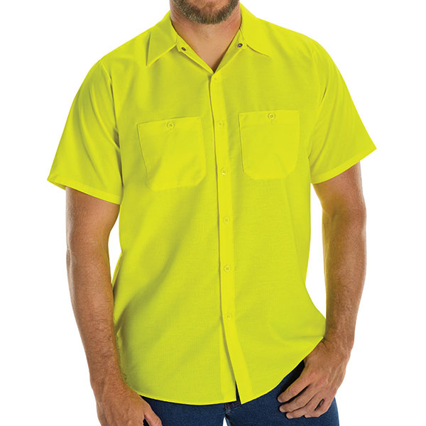Enhanced Visibility Ripstop Short-Sleeve Woven Shirt