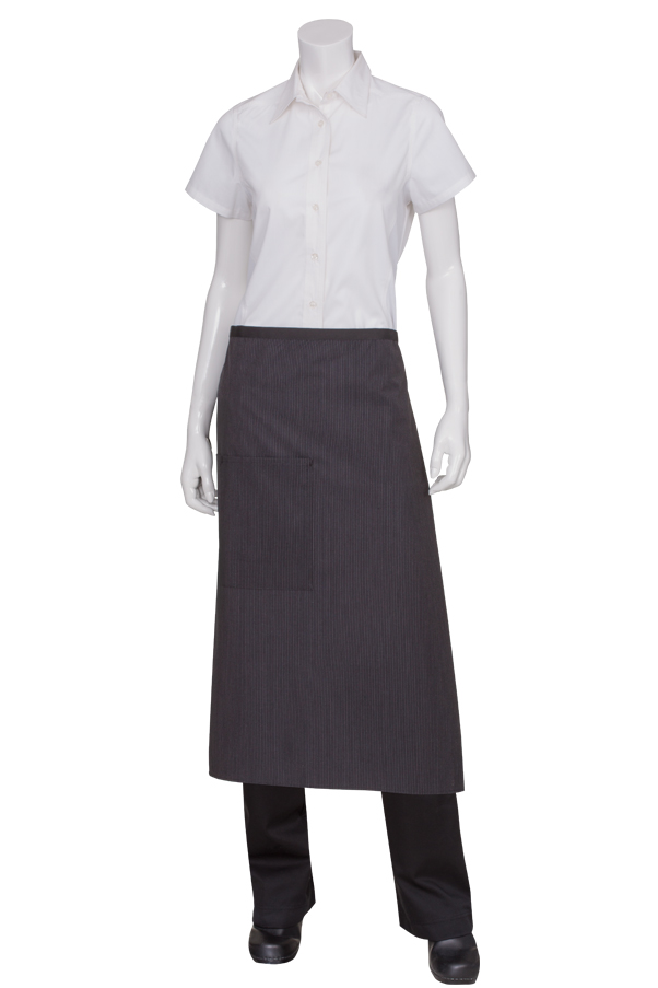 Bistro Apron With Contrasting Ties-CW
