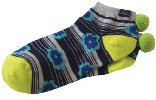 Pom Pom Ankle Socks