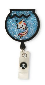 Tokidoki Shaker Badge-koi Med Accessories