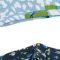 Floral Leopard/Ditsy Floral Blue