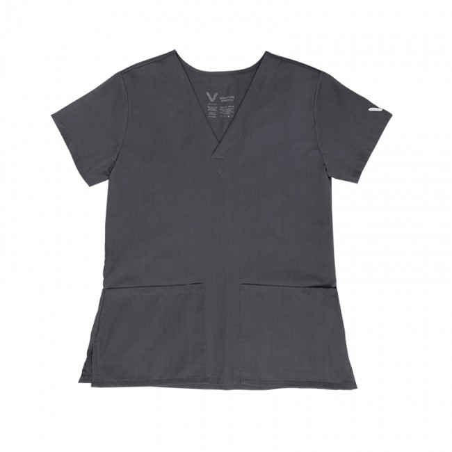 VESTEX SIGNATURE STRETCH Women's 2 Pocket Scrub Top