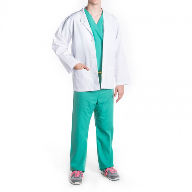 Professionals Unisex Short Lab Coat