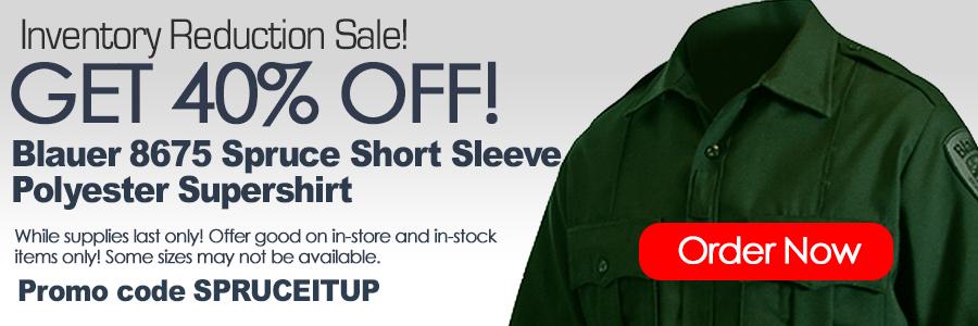 Blauer 8675 Spruce Short sleeve Supershirt Sale