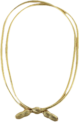 CAMPAIGNCORD-GOLMET - W. Alboum Hat Co Campaign Cord - Gold Metallic-WABLOUM