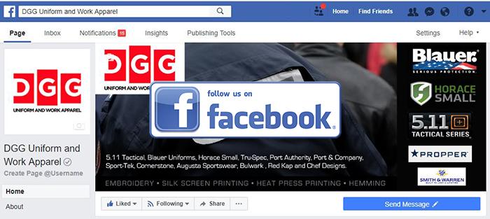Follow DGG on Facebook