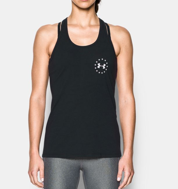 UA Womens Land of Free Tank