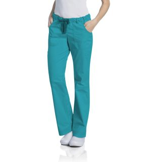Pre-Washed Ladies Dual Elastic + Drawstring Cargo Pant - 2024