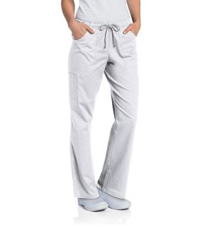 Landau All Day Full Elastic Cargo Scrub Pant-Landau