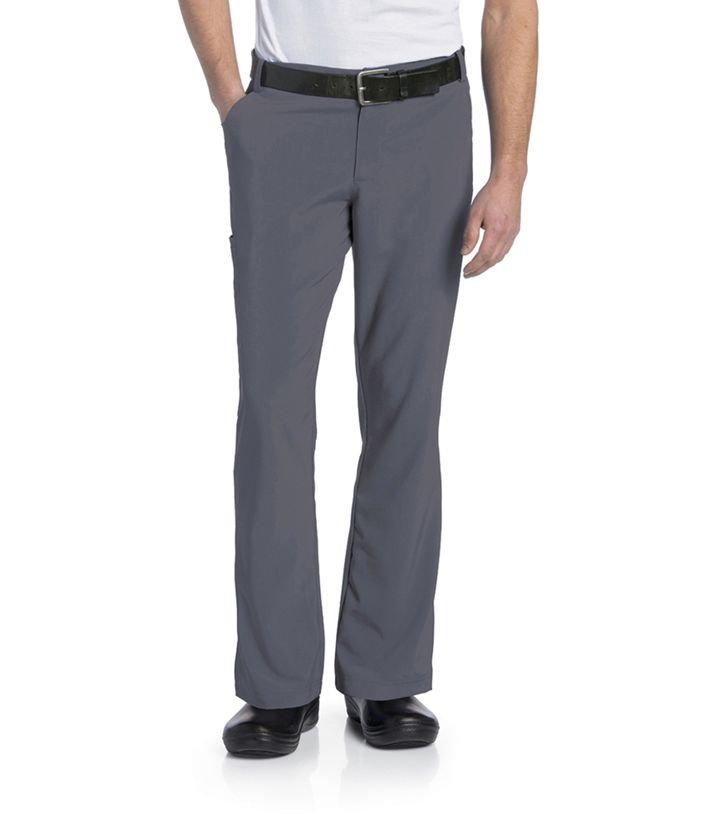 DEAL- Landau Men's Fly Front Pant - 2037-Landau