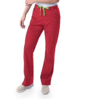 Womens Modern 1/2 & 1/2 Straight Leg Pant-Landau