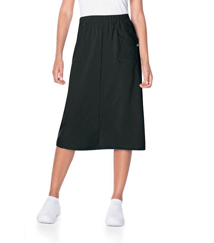 Landau Medical ProFlex Womens Modern A-Line Skirt-Landau