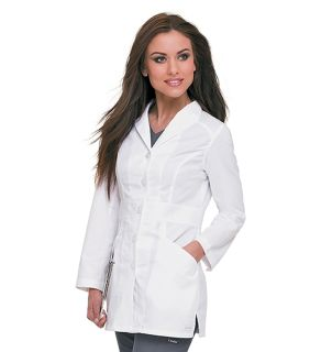 Womens Smart Stretch Signature Lab Coat-