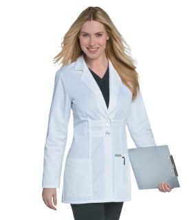 Womens Antimicrobial Lab Coat-Landau