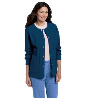 PreWash Ladies Knit Cuff Warm-Up Jacket - 3035-Landau