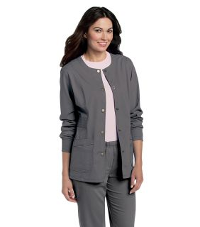 Pre-Washed Ladies Knit Cuff Warm-Up Jacket - 3035