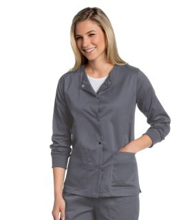All Day Ladies Snap Front Warm Up Jacket - 3507