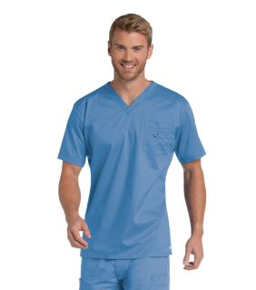 4098 Landau Men's Stretch V-Neck Top-Landau