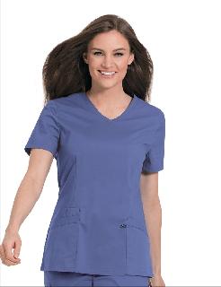 Women's Stretch V-Neck Tunic