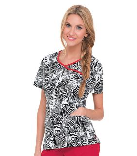 Landau Bound Surplice Scrub Top-Landau