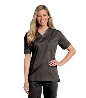 All Day Unisex V Neck Scrub Top-