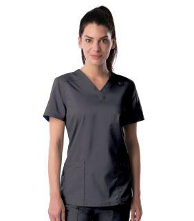 Landau Medical ProFlex Womens Modern V Neck Tunic-Landau