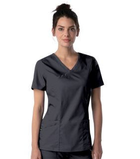 Womens Modern Faux Surplice Tunic-